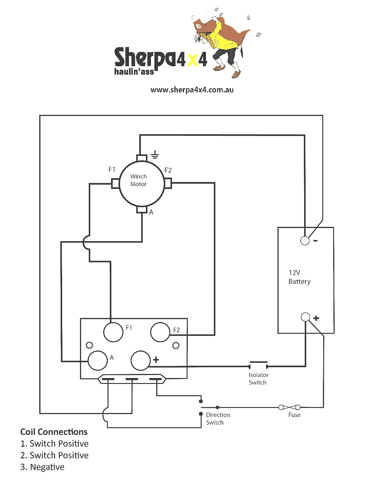 warn winch contactor wiring diagram