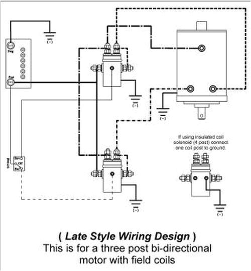 ramsey winch wiring diagram solenoid wiring diagram review 4 post 12 volt solenoid diagram wiring diagram