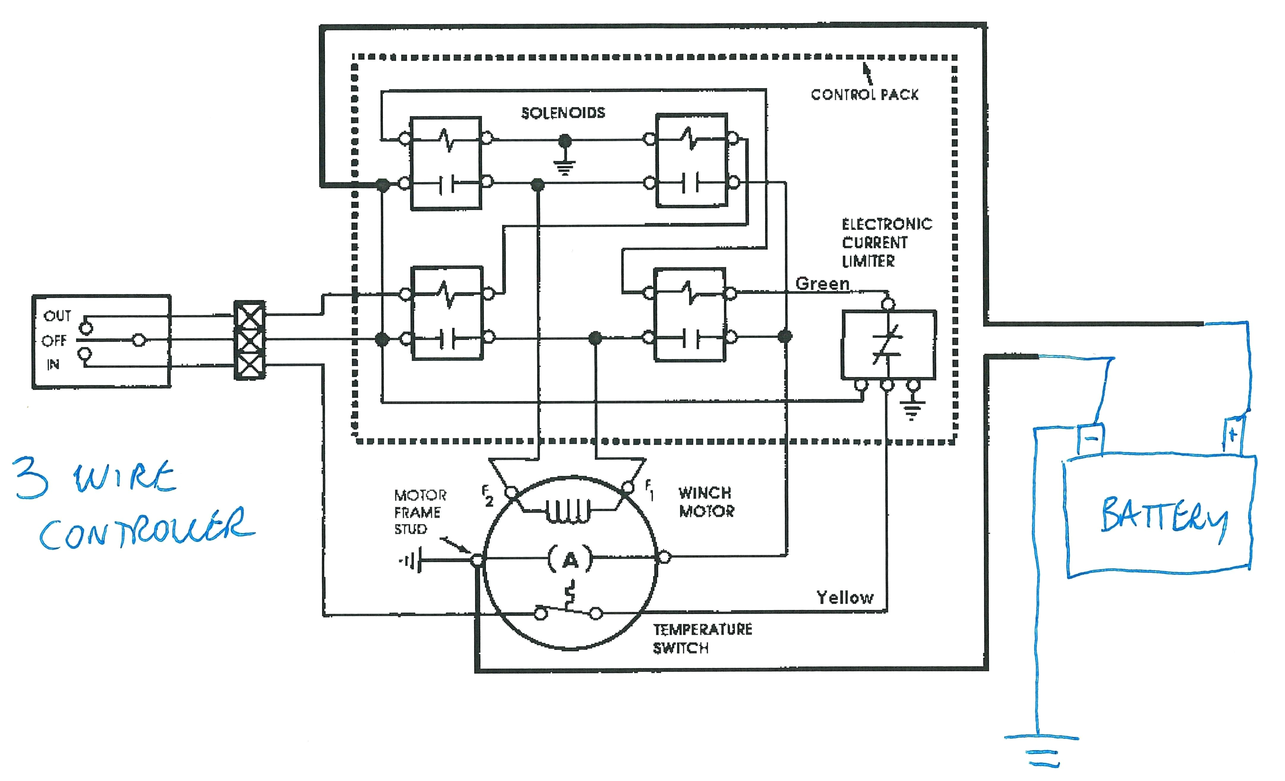 harbor freight electric hoist wiring diagram