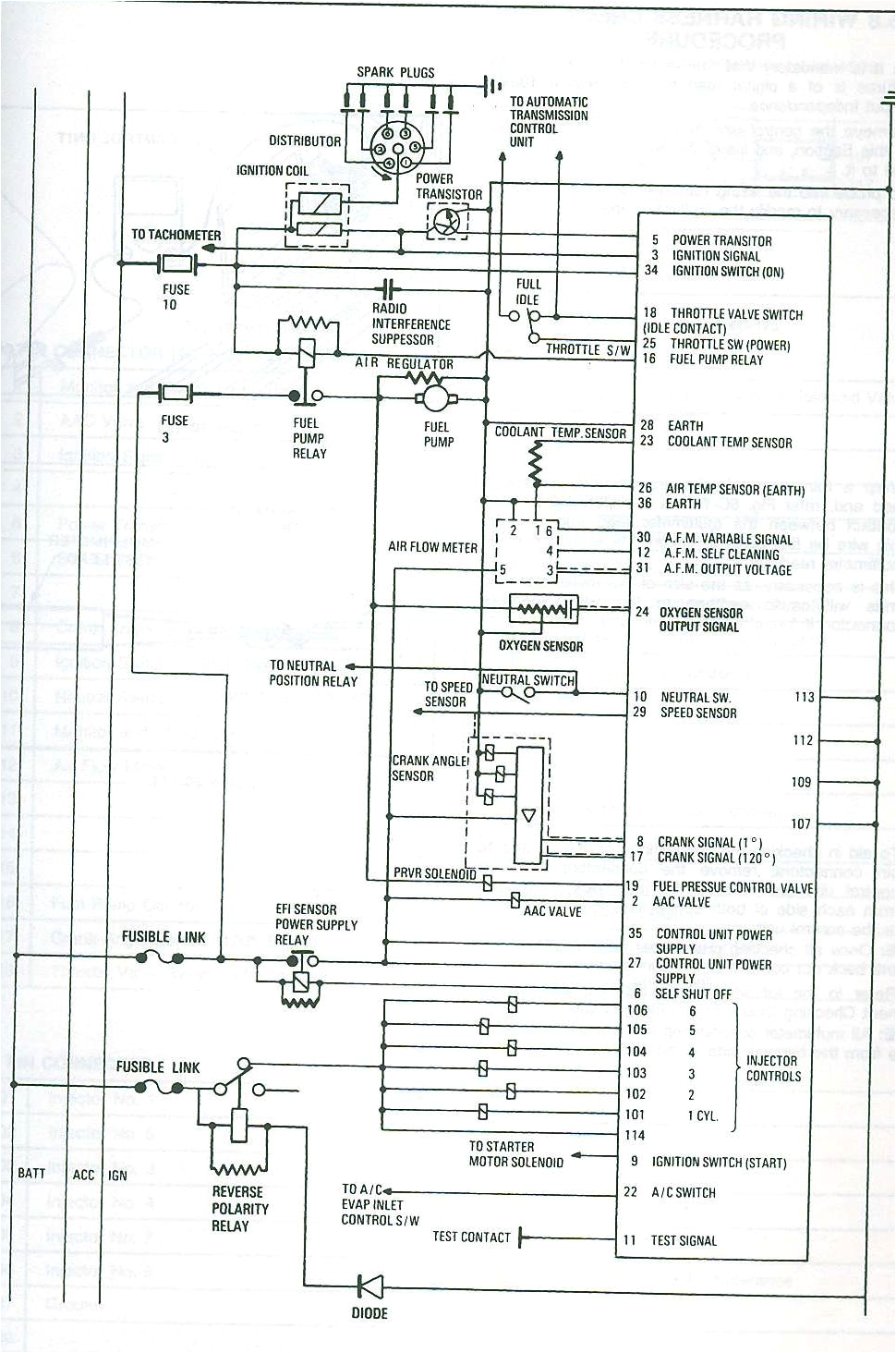 rb20det engine diagram rb30 wiring diagrams 280zx project