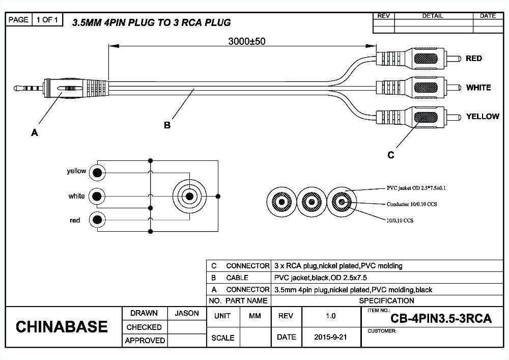 Rca Jack Wiring Diagram 3 5 Mm to Rca Wiring Diagram Wiring Diagram Name