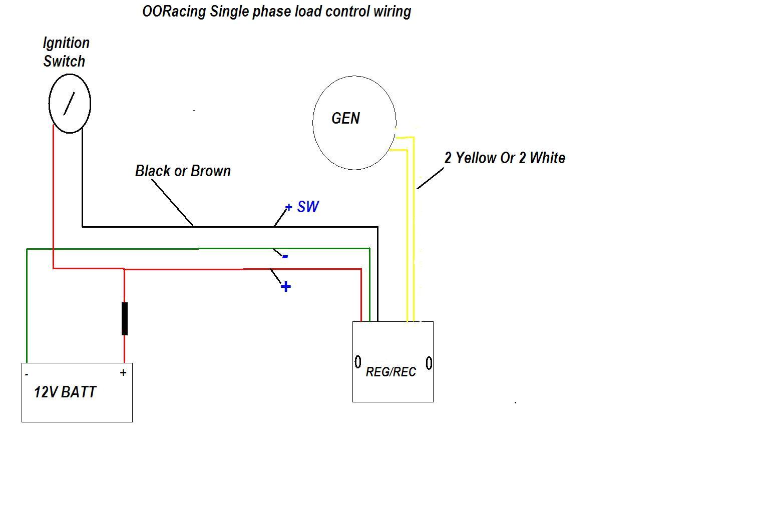 Rec Reg Wiring Diagram Ooracing Performance Monkey Bike Pit Bike Madass Zoomer Dirt