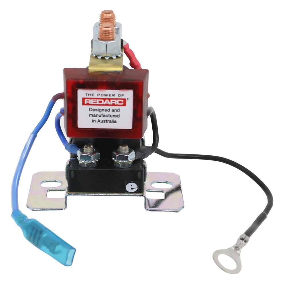 redarc smart start battery isolator with wiring kit 12 volt 100 amp redarc battery chargers 331 sbi12kit