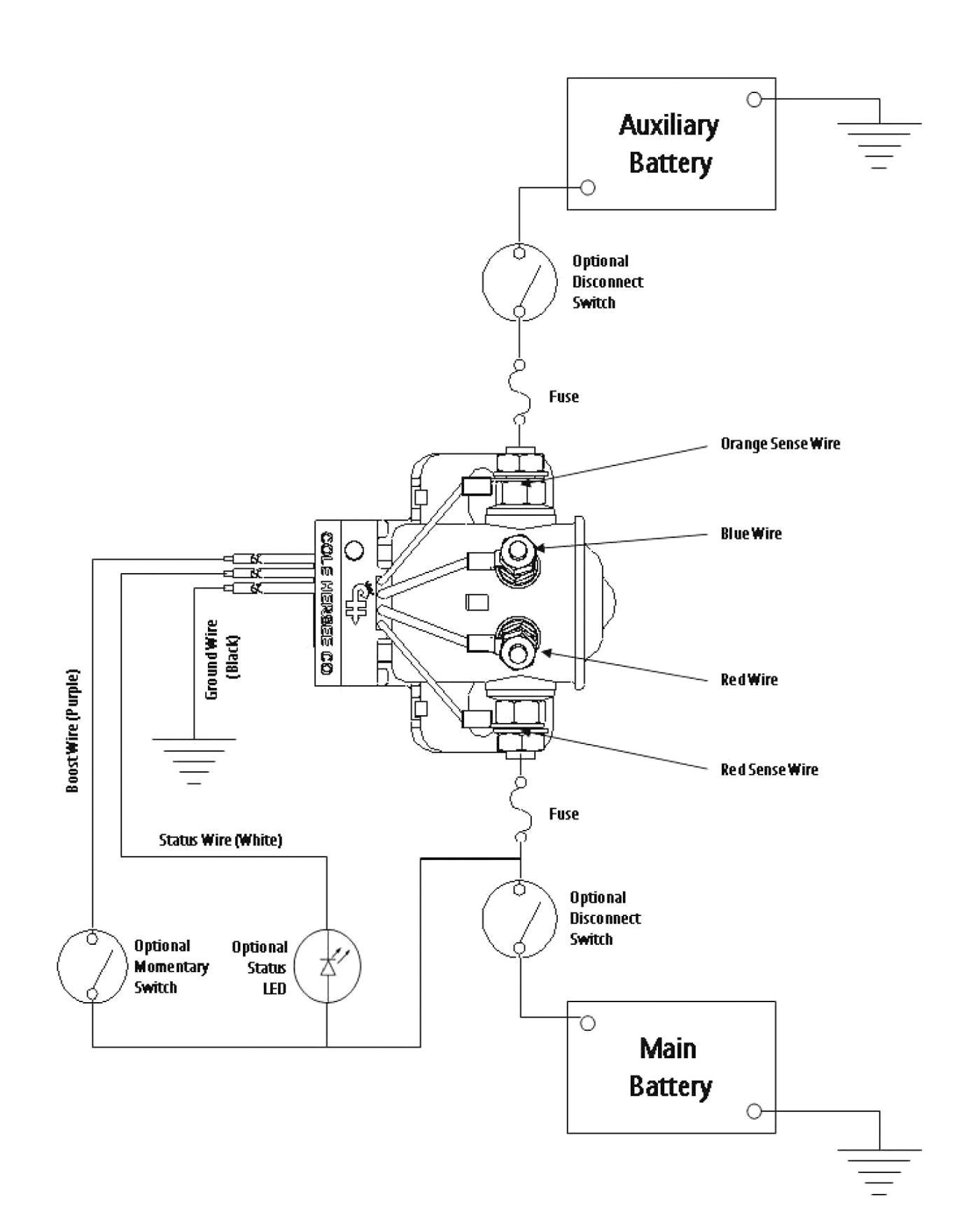 Redarc Battery isolator Wiring Diagram Rv Dual Battery Switch Wiring Diagram Wiring Diagram Expert