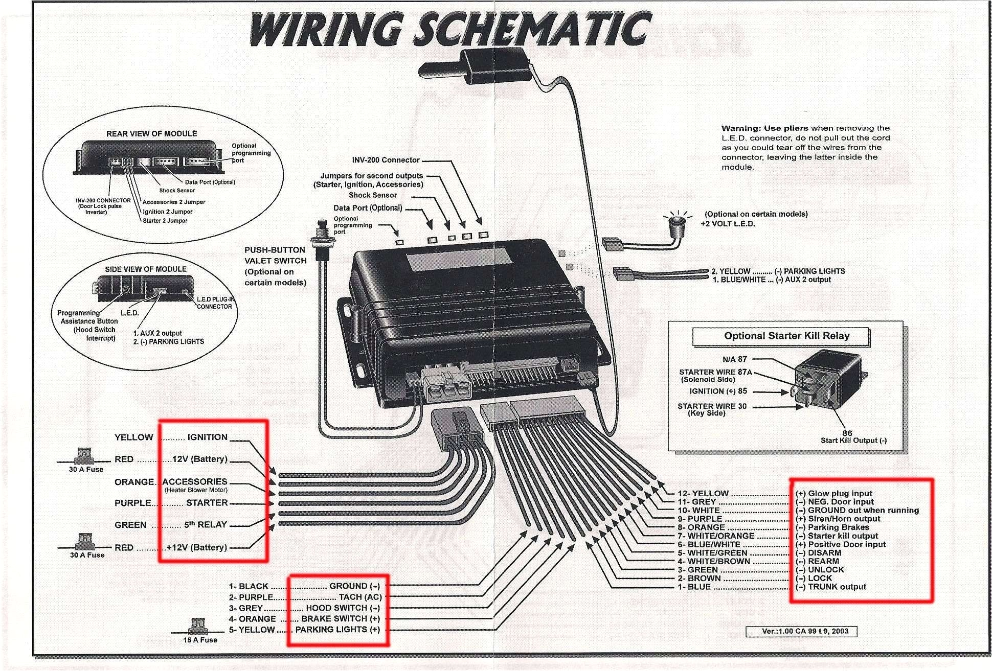 gm alarm wiring diagram wiring diagram technic prime remote starter wiring schematics