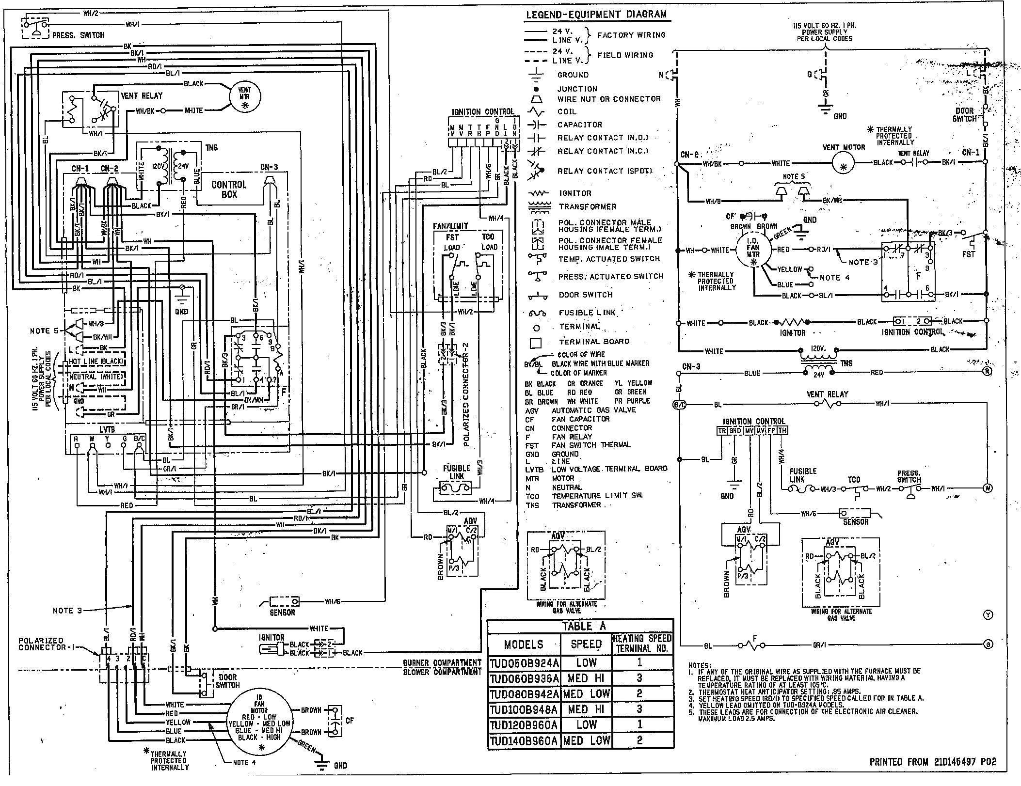 rheem heat pump condenser wiring diagram