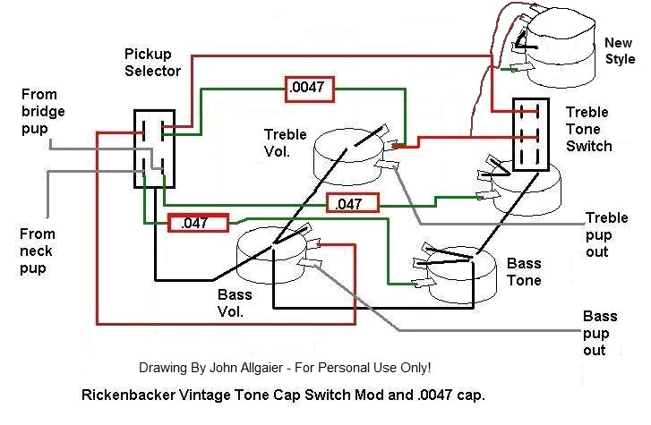 rickenbacker wiring diagram repairs and technical basschat here s the one i used for my rockinbetter