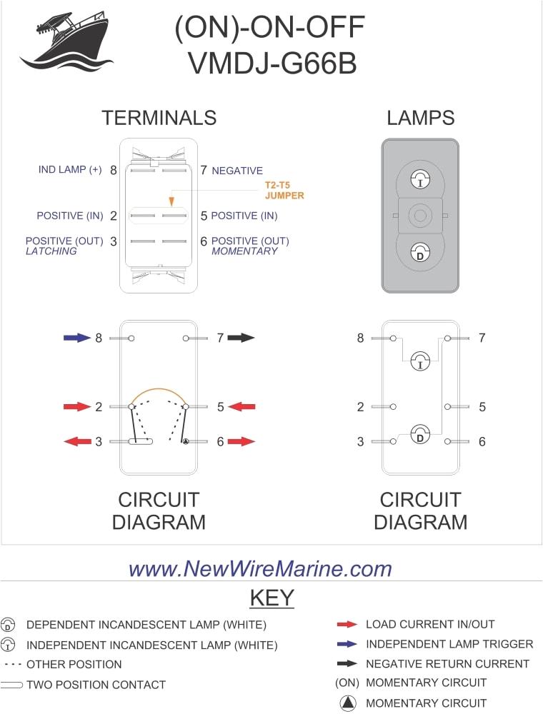 rocker switch wiring diagrams new wire marine 8 pin dpdt switch wiring diagram 8 pin switch wiring diagram