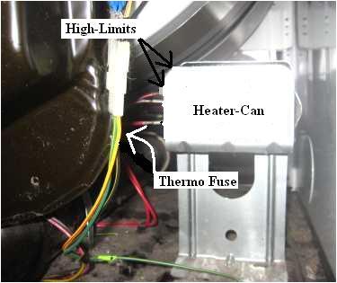 whirlpool dryer no heat repair guidege dryer heating element wiring diagram 9