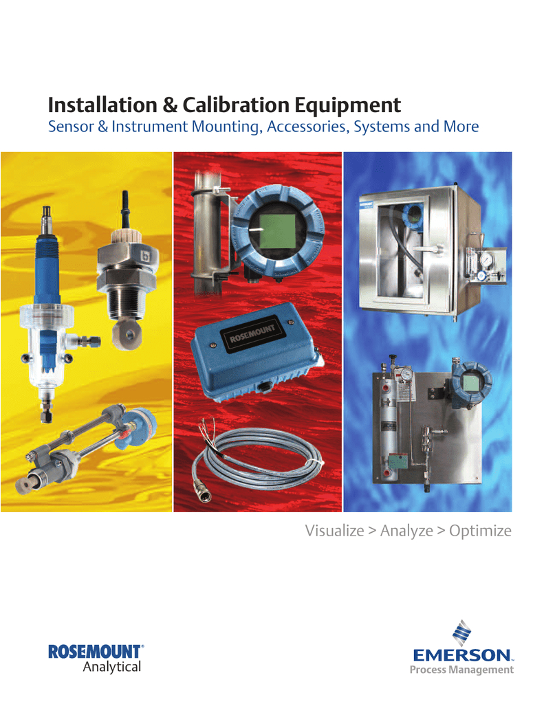 rosemount analytical sensor installation calibration guide