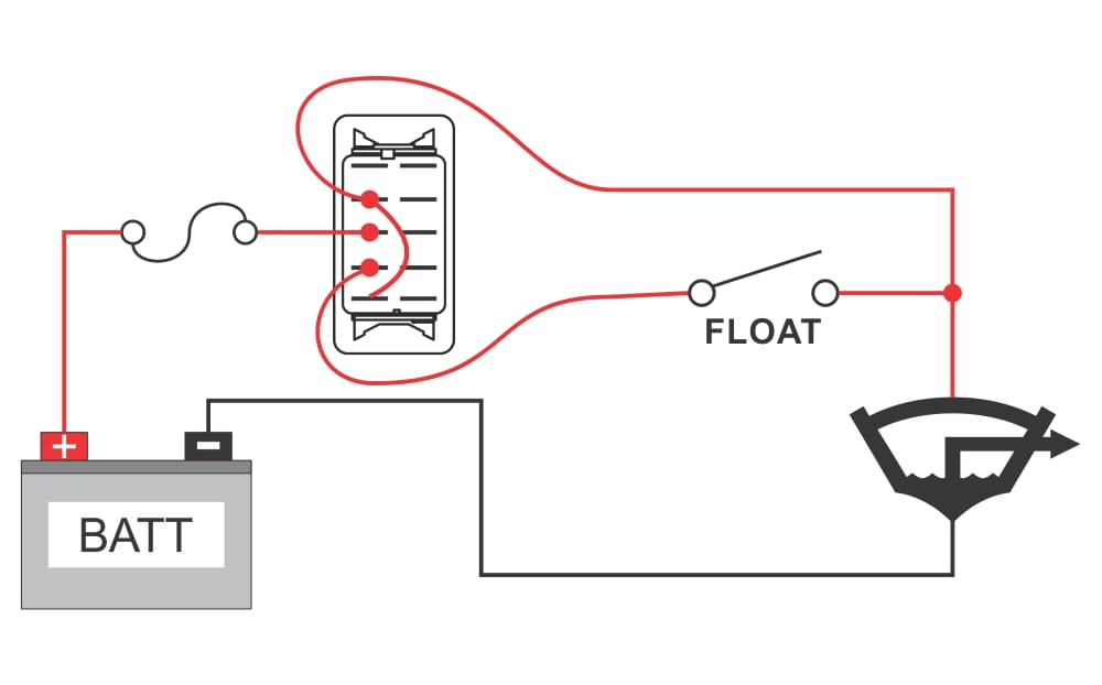 wiring diagram for bilge pump wiring diagram megahow to wire a bilge pump on off bilge