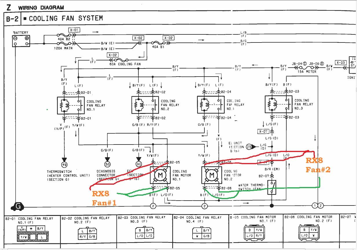 rx8 fans in rx7 fd rx7club com mazda rx7 forum rh rx7club com rx7 fd wiring