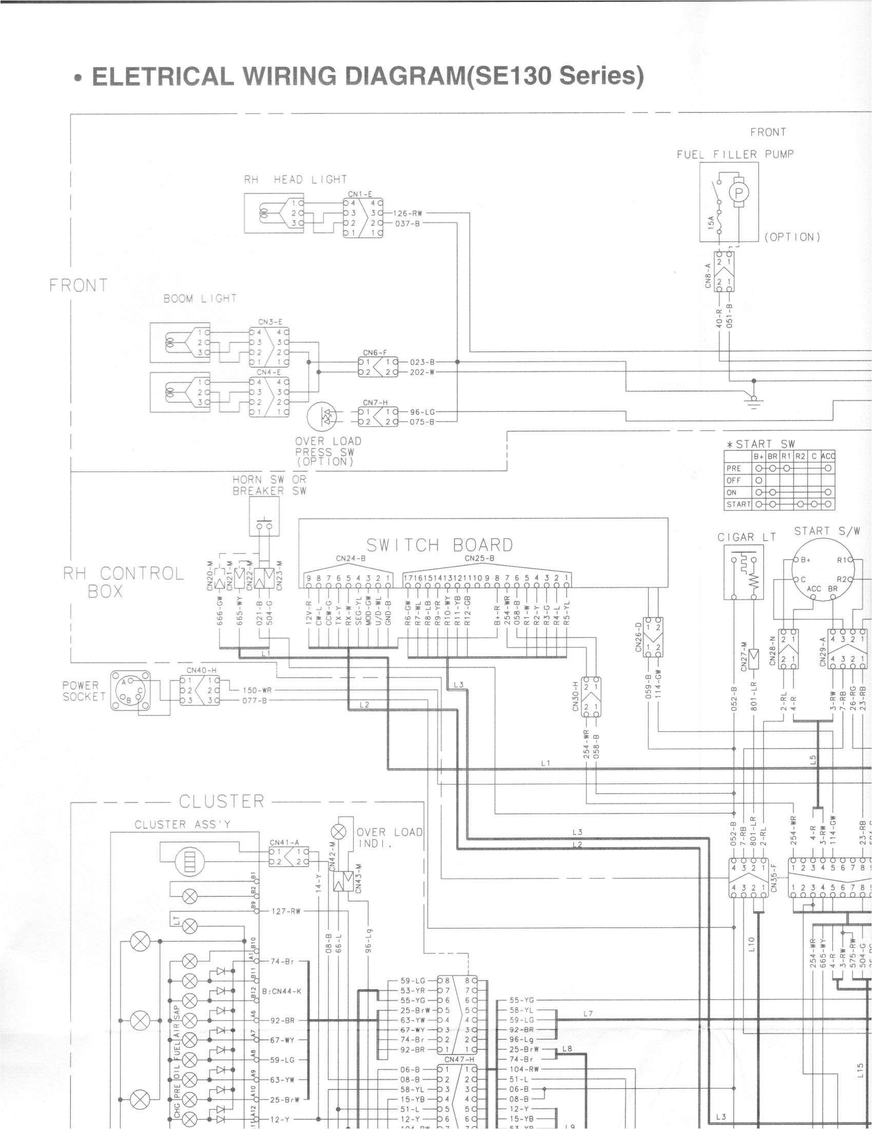 hello i do have a good schematic it is just extra large i scanned it in sections to see if you can piece together at you site
