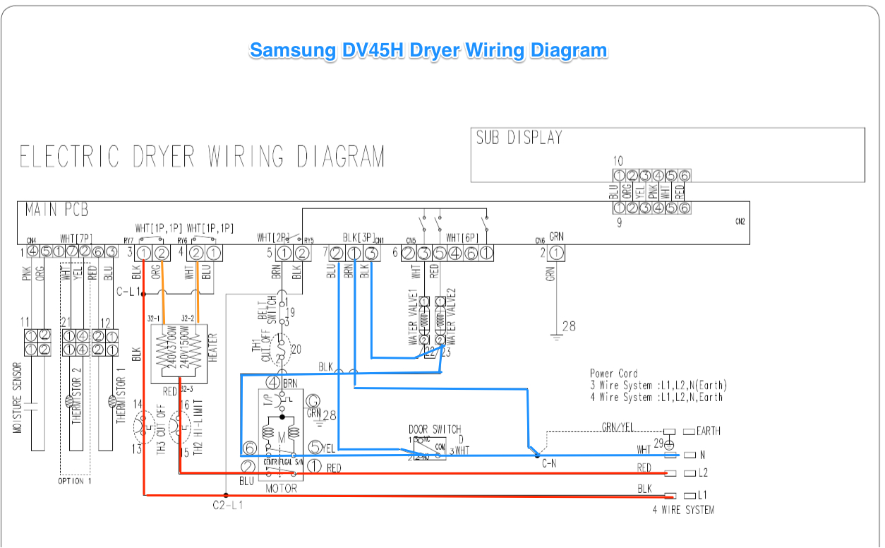 samsung wiring schematic wiring diagram load