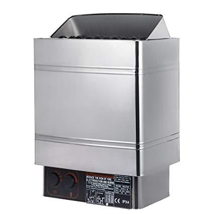 vevor wall mount 9kw dry steam bath sauna heater stove 220v 240v with external controller