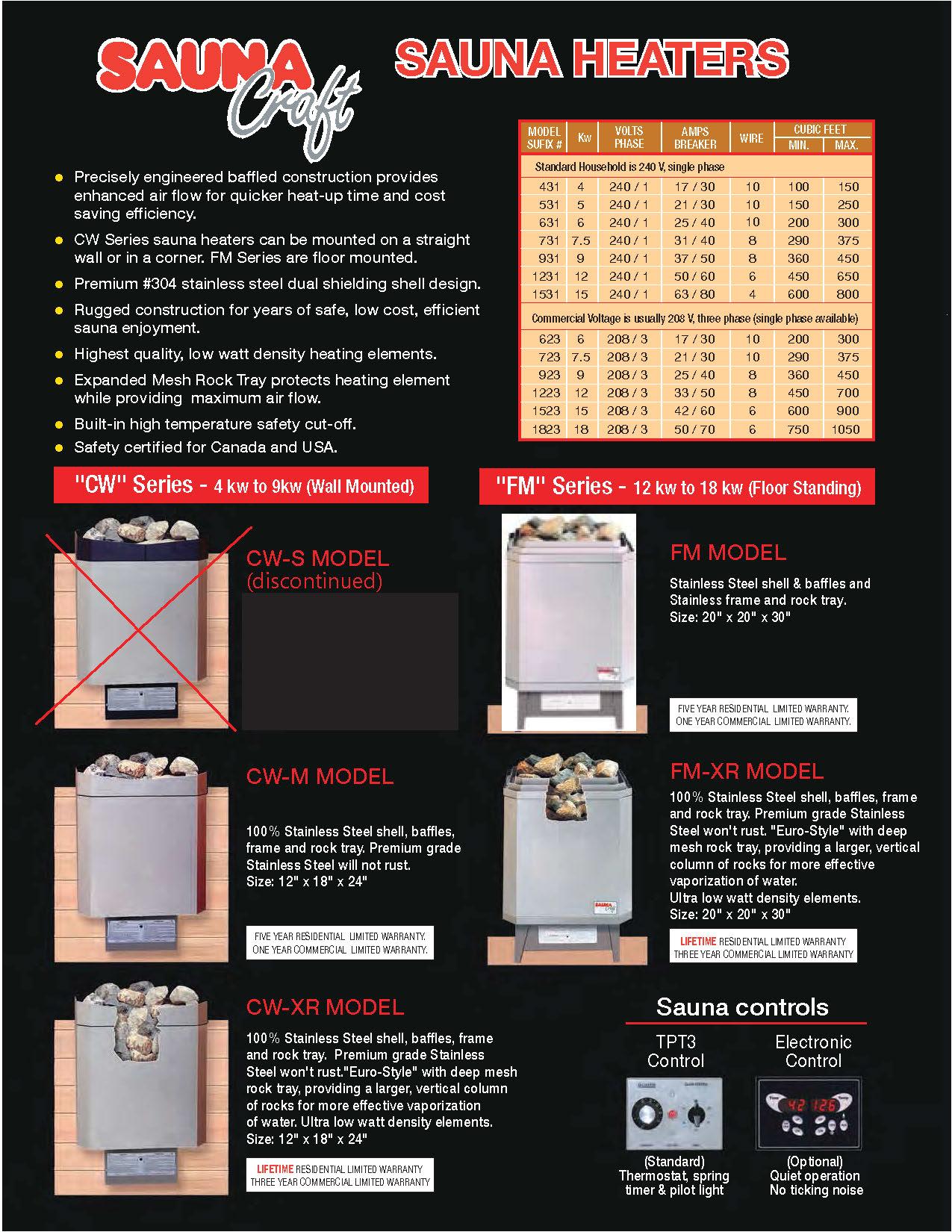 see sauna craft brochure page