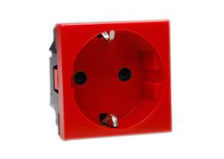european schuko 16 ampere 250 volt modular outlet cee7 3 type e