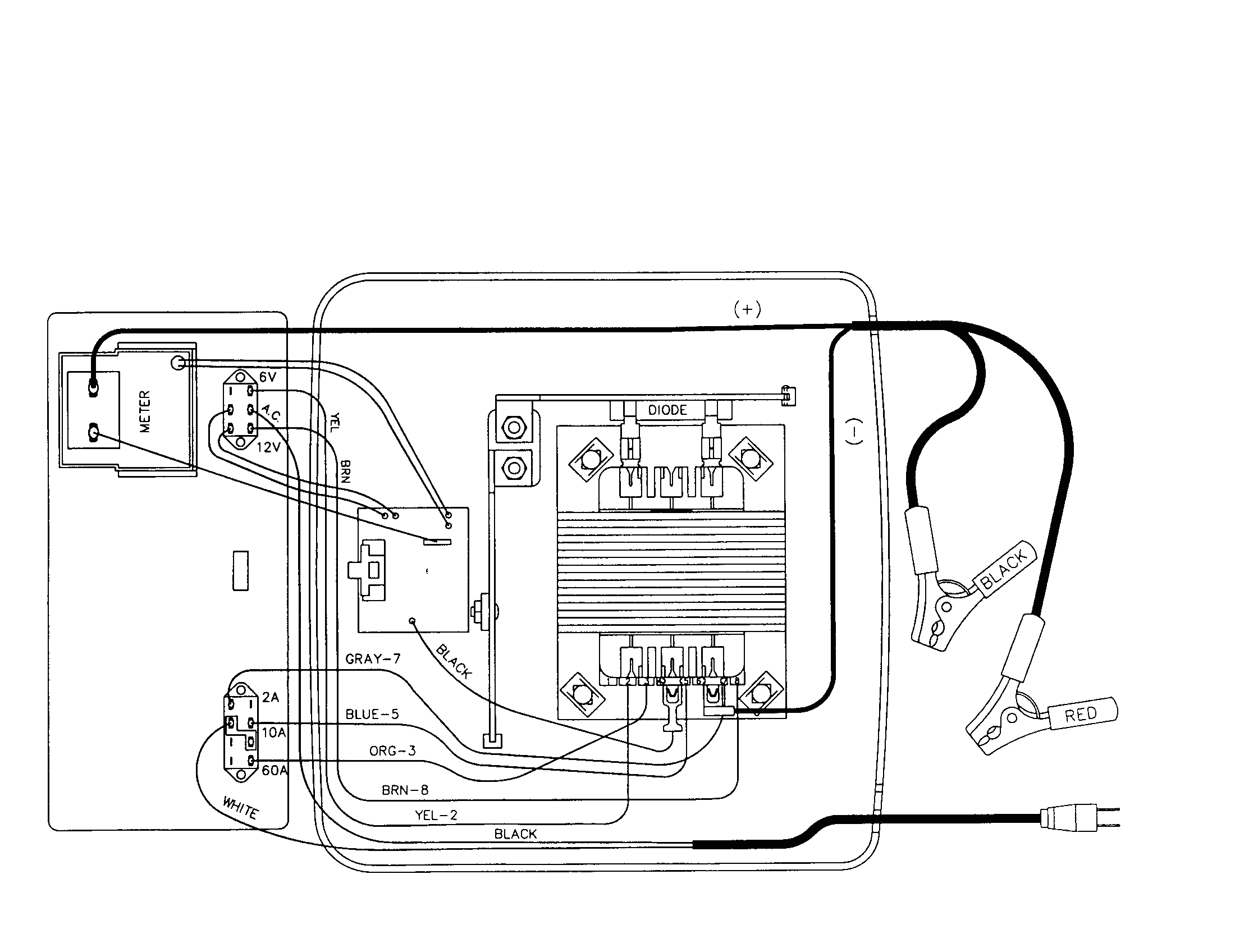 battery wiring diagrams new schumacher battery charger wiring diagram scwam battery charger of battery wiring diagrams png