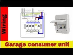 how to wire rcd in garage shed consumer unit uk consumer unit wiring diagram