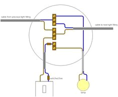 pull cord light switch diagram