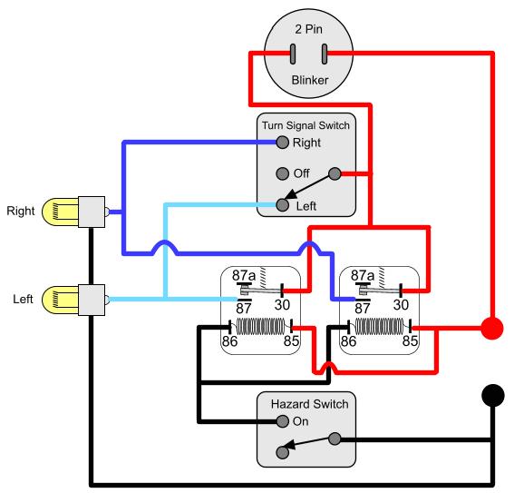 turn signal light wiring diagram
