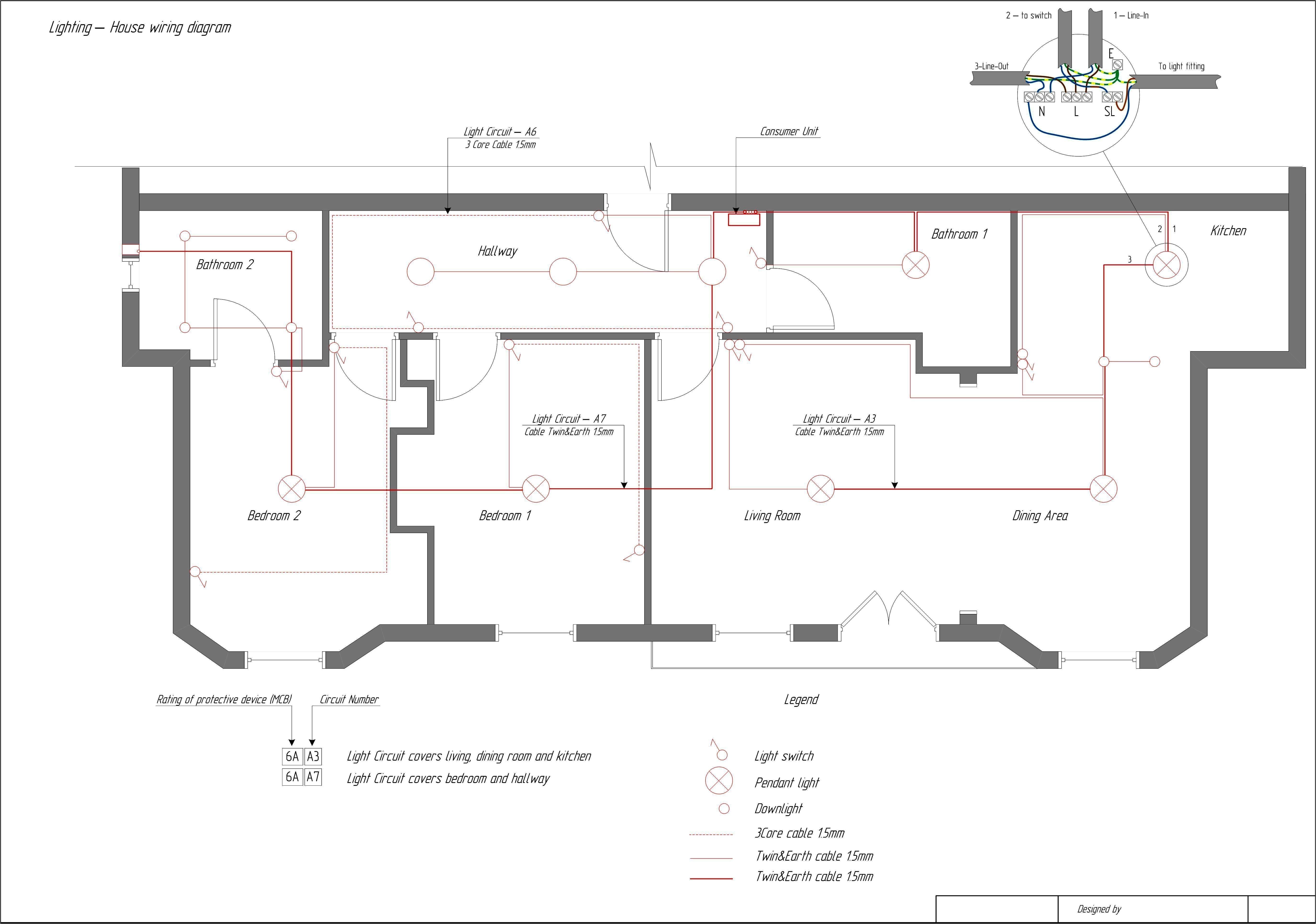 Simple House Wiring Diagram 23 Fancy Electrical Floor Plan Decoration Floor Plan Design