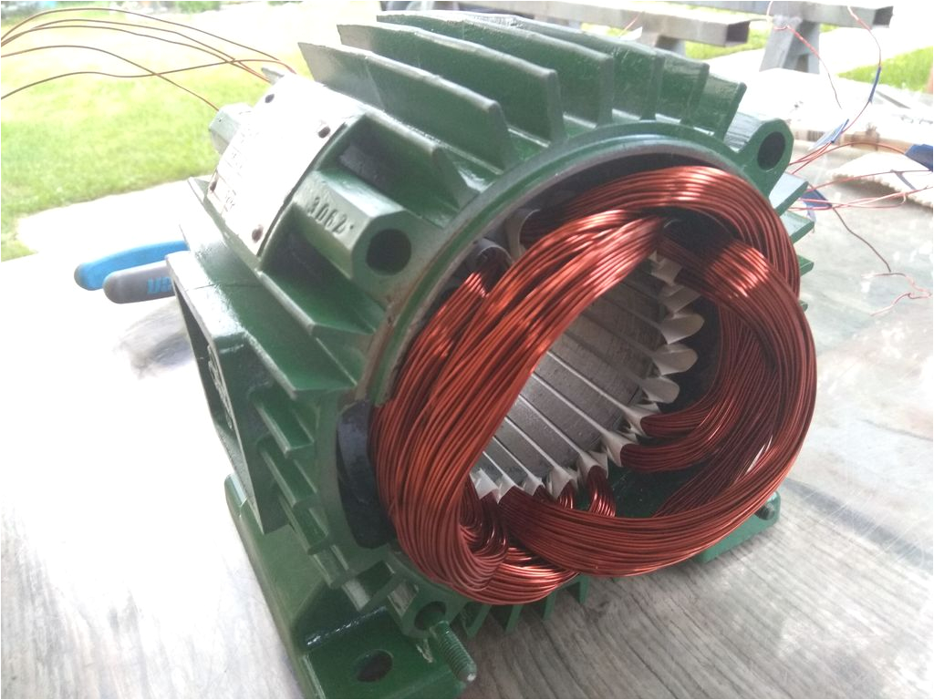 Single Phase asynchronous Motor Wiring Diagram Rewinding 3 Phase Motor 54 Steps with Pictures