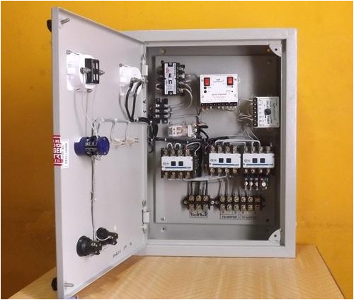 control panel board auto changeover mobile controller manufacturer from coimbatore