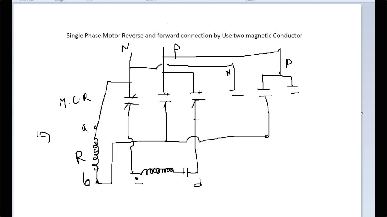 Single Phase forward Reverse Motor Wiring Diagram Single Phase Motor Wiring Diagram forward Reverse Best Of Single