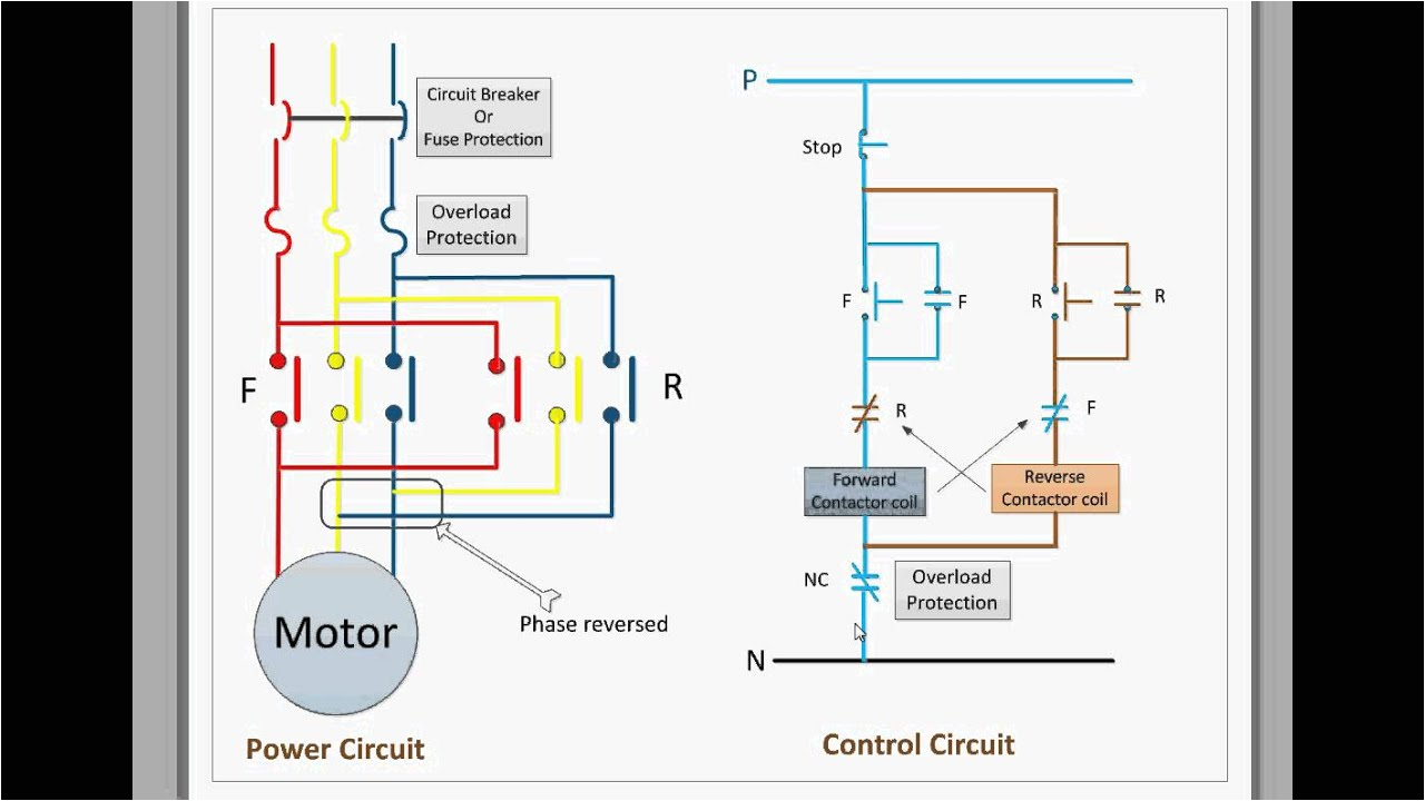 control circuit for forward and reverse motor youtube and reverse motor diagram motor repalcement parts and diagram