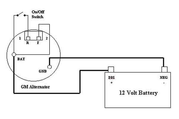 2wire Alternator Diagram Yamaha 750 Wiring Diagram Make Data A Make Data A Disnar It