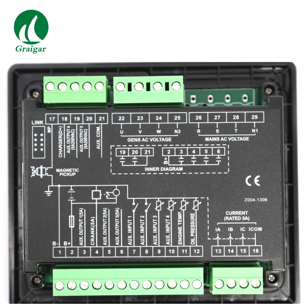 smartgen controller wiring diagram elegant new smartgen auto hgm410n genset controller in generator parts