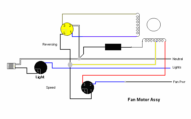 ceiling fand wiring diagramsceiling fan circuit type 2