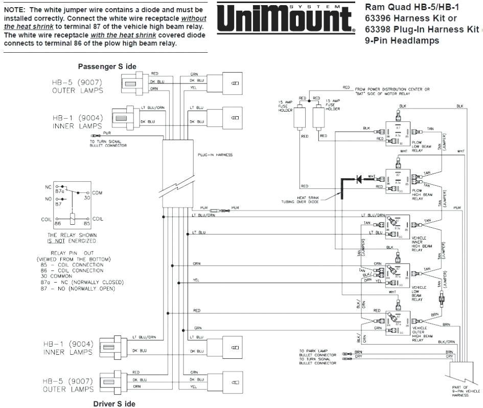 Snow Plow Wiring Diagram Western Plow solenoid Wiring Wiring Diagram List