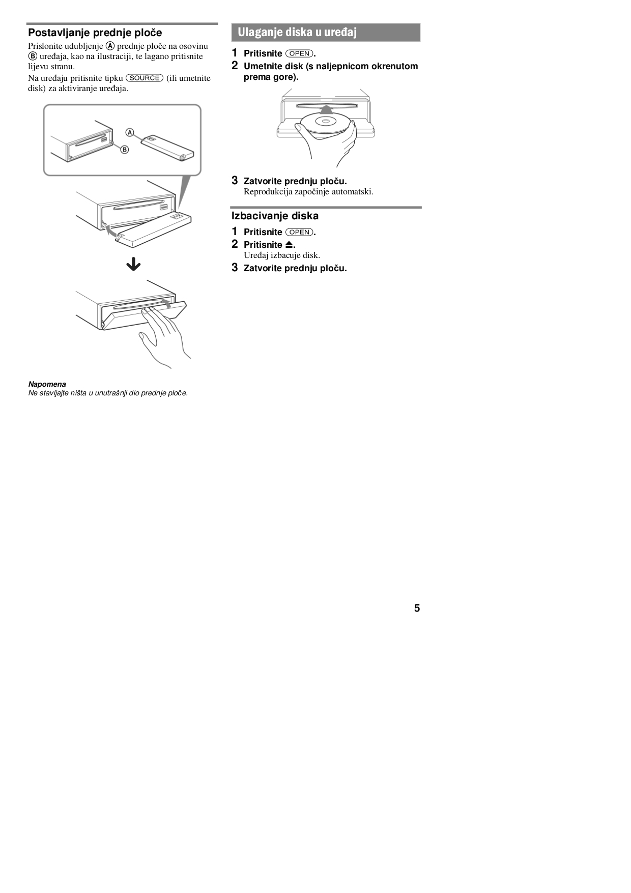 sony remote control rm xm10 pdf page preview