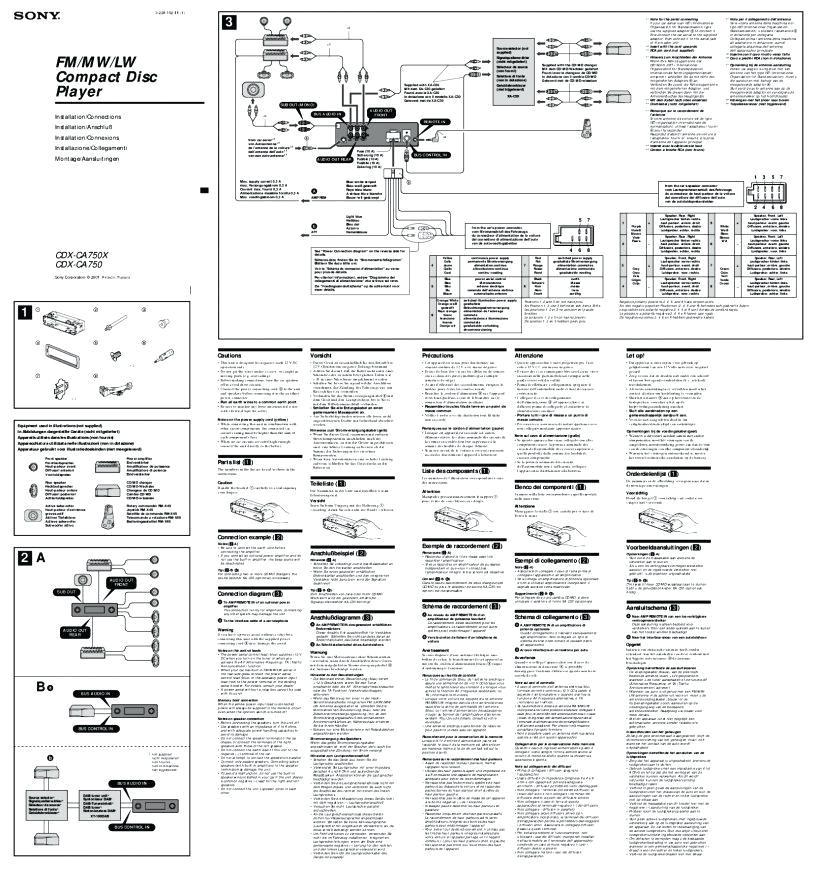 sony cdx 610 wiring diagram wiring diagram diagrams image free