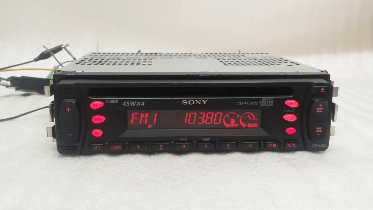 sony cdx l280
