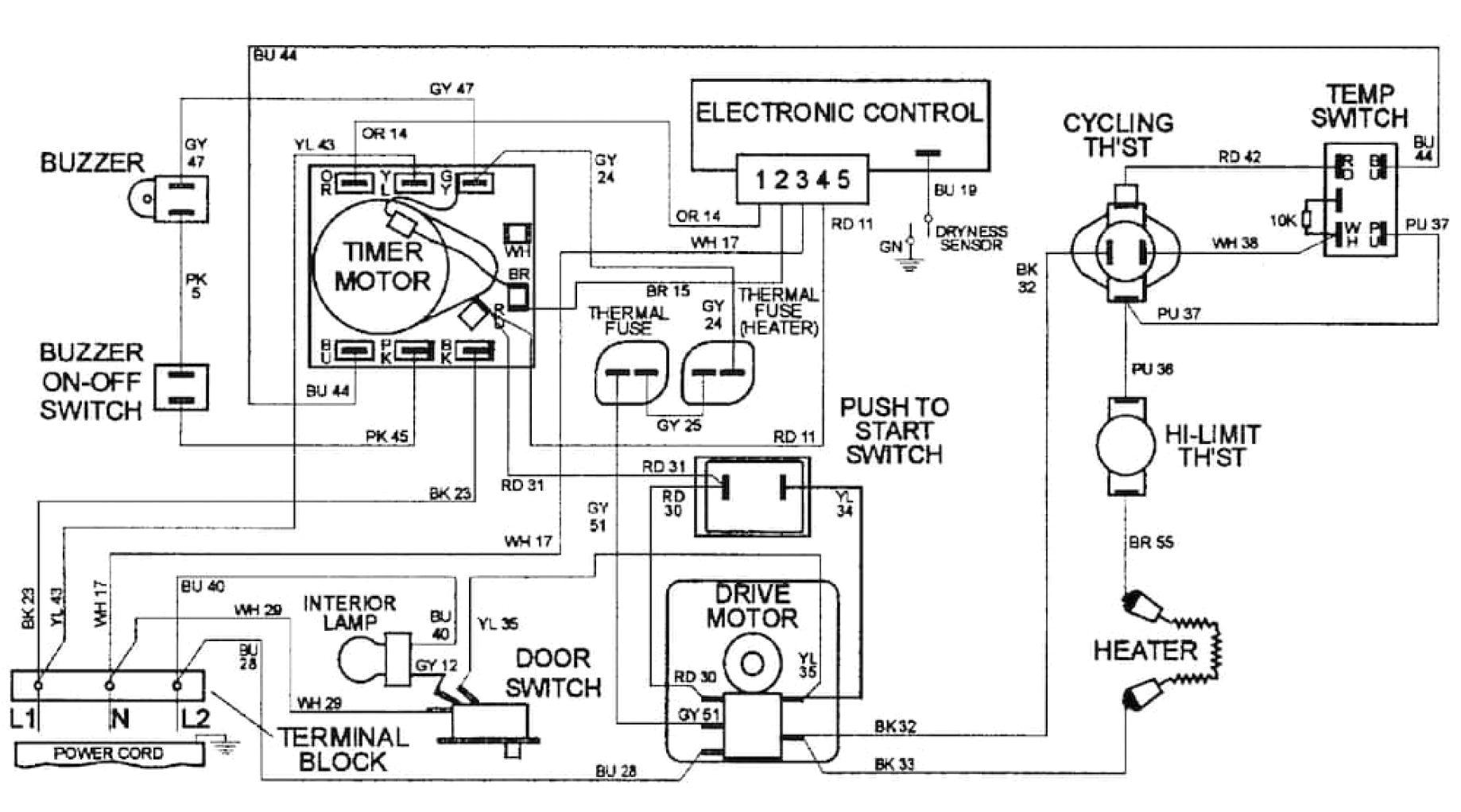 dexter wire diagram wiring diagram user dexter dryer motor wiring diagram