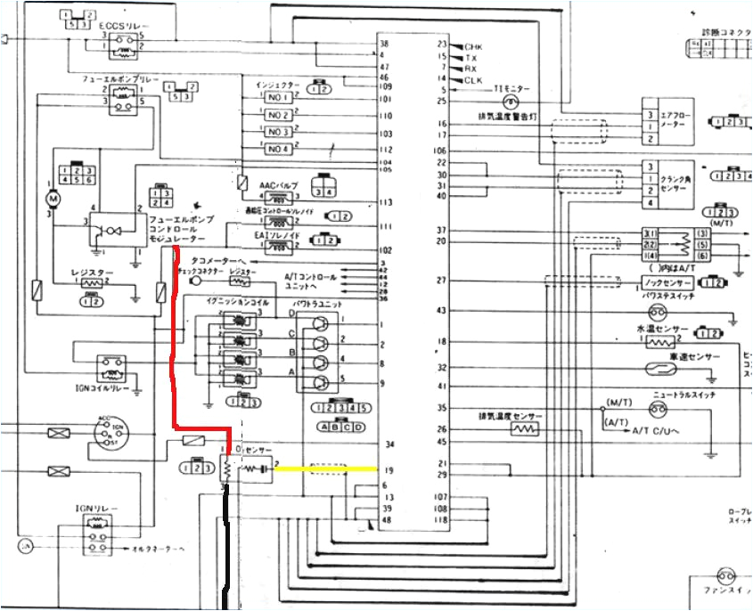 sr20de distributor wiring diagram awesome s13 wiring diagram
