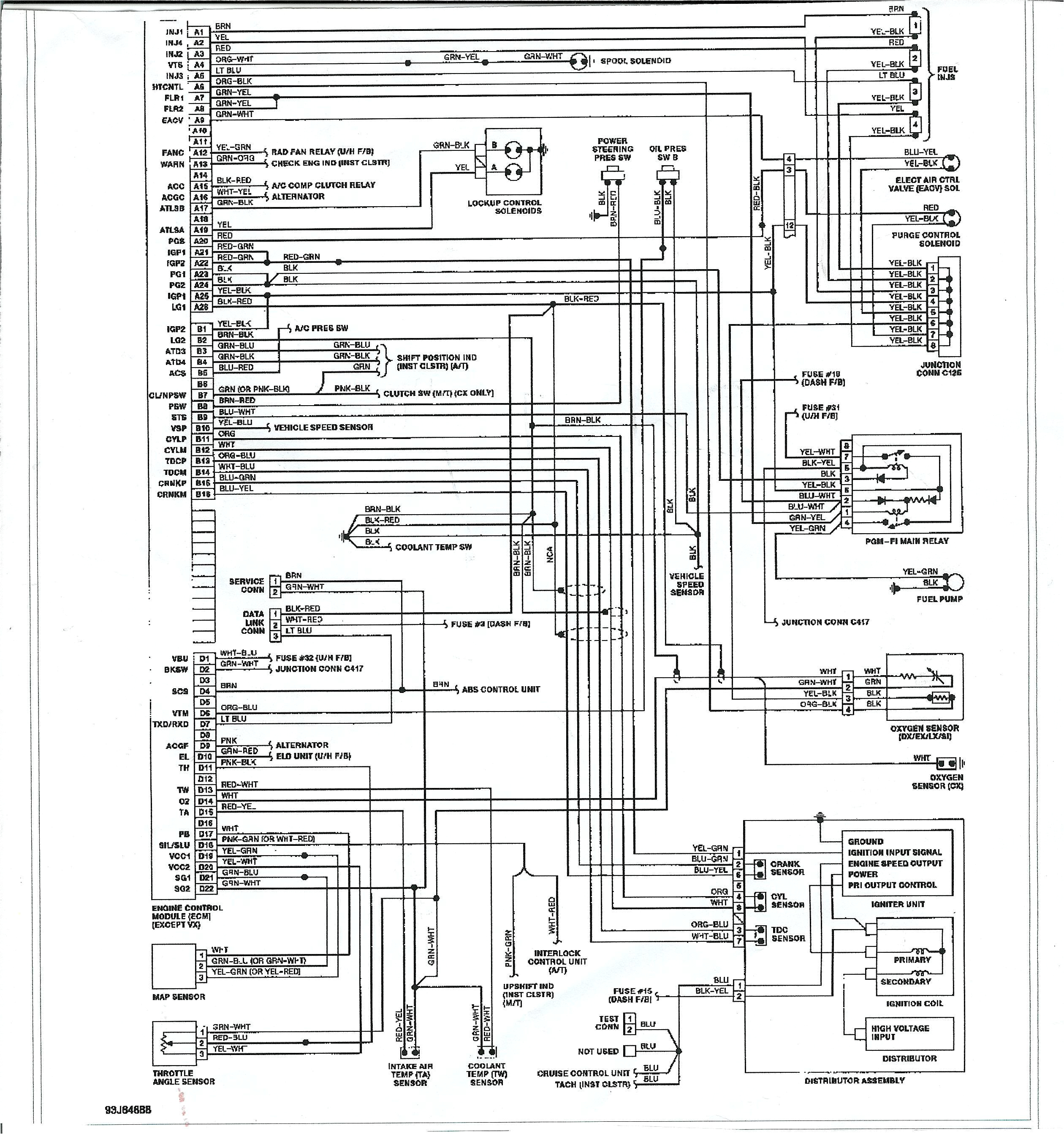 sr20de distributor wiring diagram unique d16z6 wiring diagram explained wiring diagrams