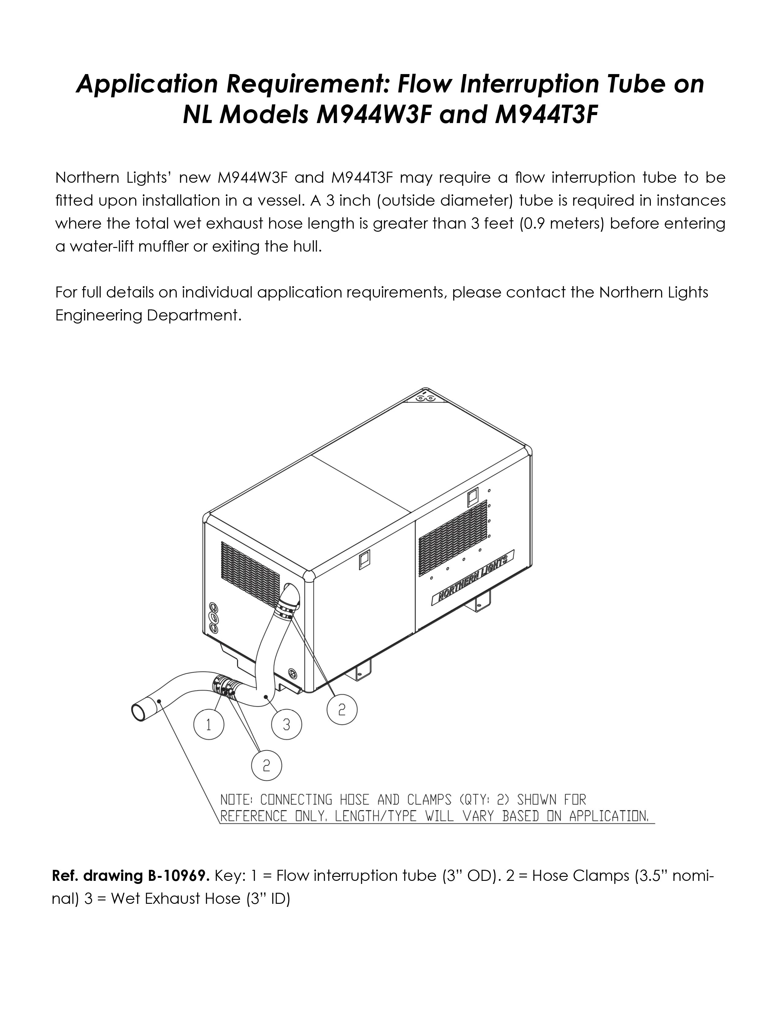 installation notice