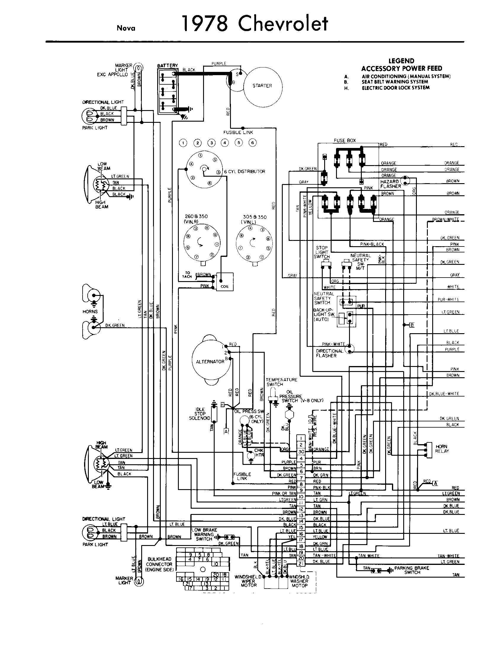 chevy starter wiring diagram