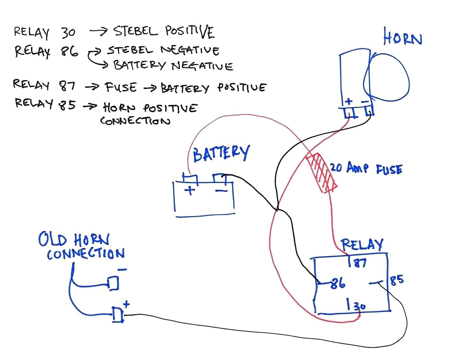 wiring car horn diagram wiring diagram car horn relay wiring schematic