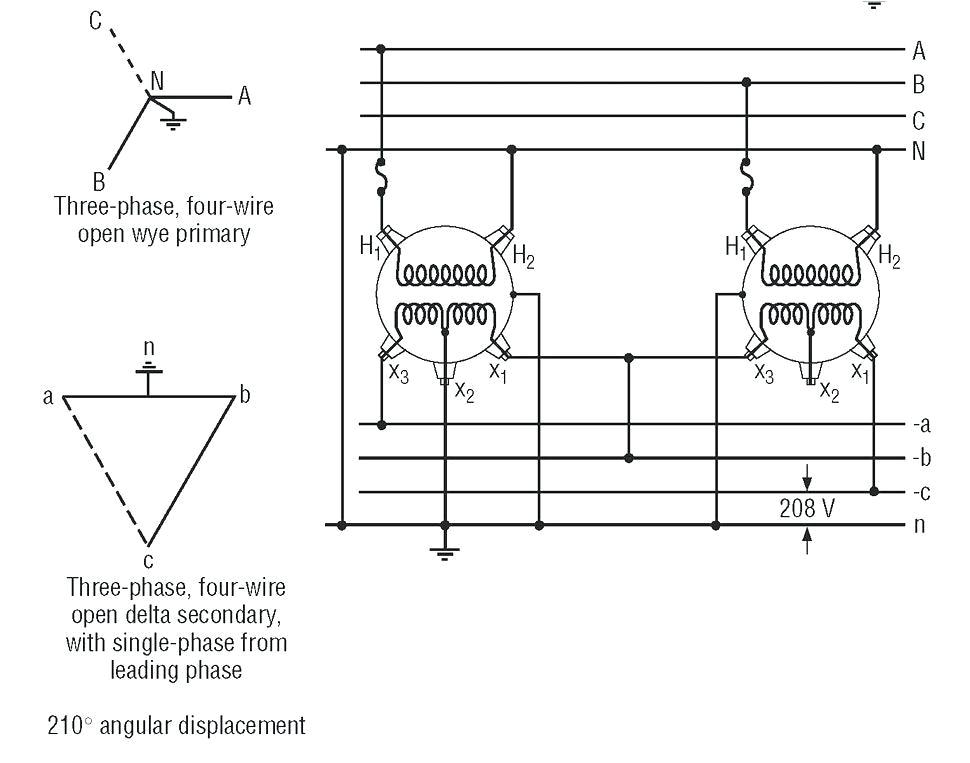 up transformer 208 to 480 calculato step