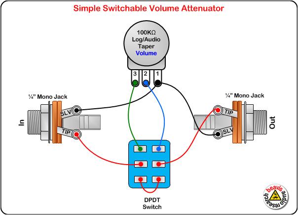 Stereo Volume Control Wiring Diagram Volume Control Wiring Diagram Awesome Stereo Volume Control Wiring