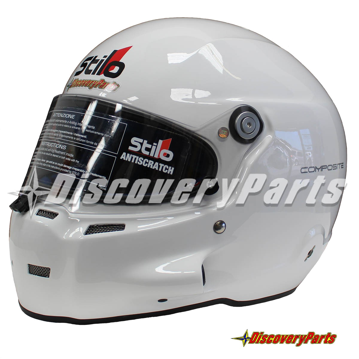 with a gloss white exterior and royal blue interior the stilo st5 is ready to satisfy the