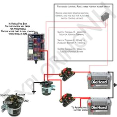 wonderful remover from isolator ignition dual battery wiring diagram vehicle fuse box mapping powered on advice