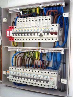 distribution board db basic electrical wiring electrical projects electronic engineering electrical