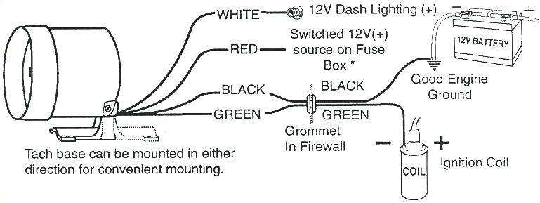 tachometer wiring schematic wiring diagramsunpro tach wiring wiring diagram toolbox