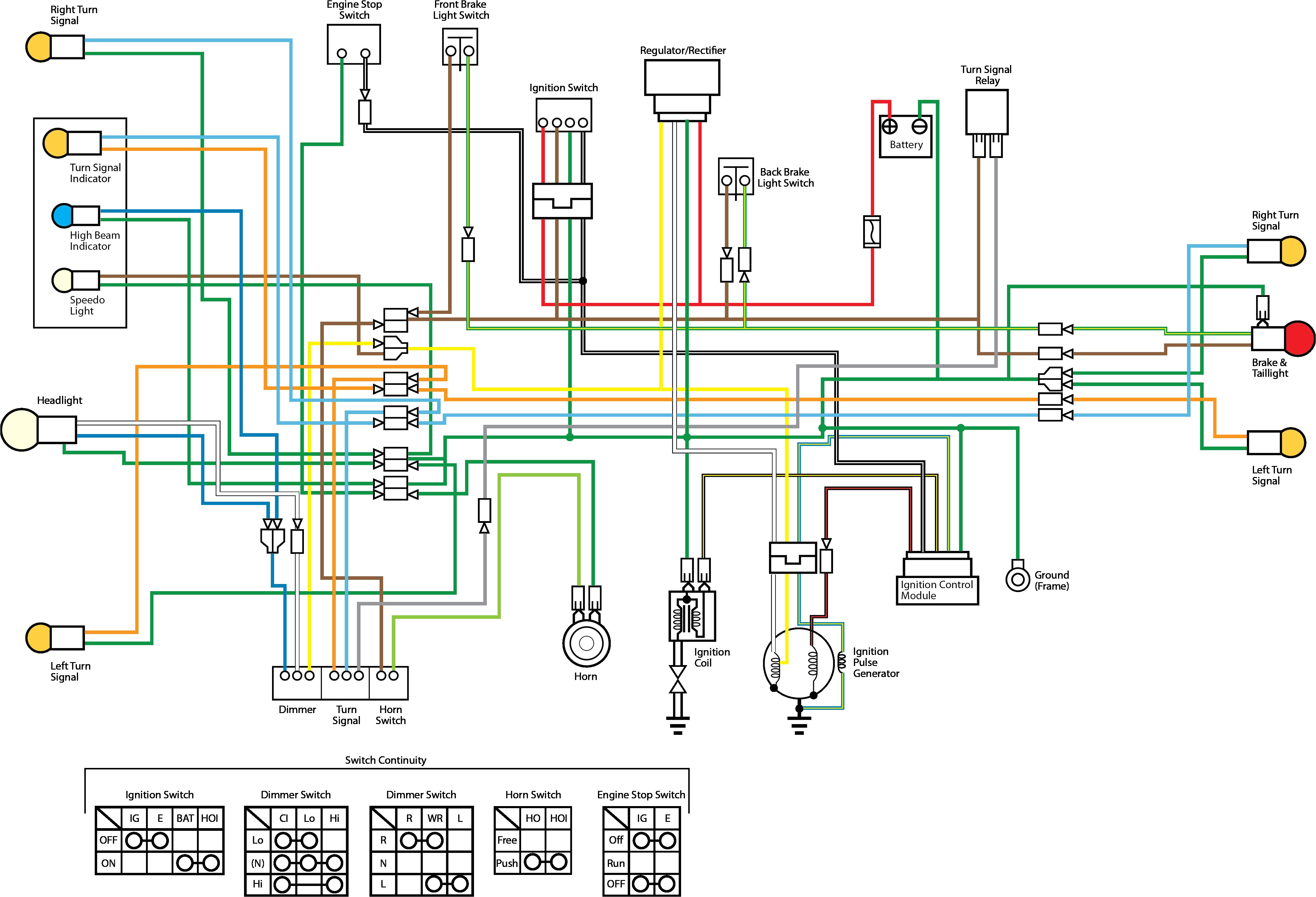 650sx wiring diagram